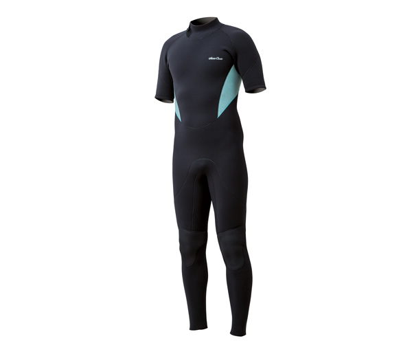 Classic Back Zip Short Sleeve Full suit