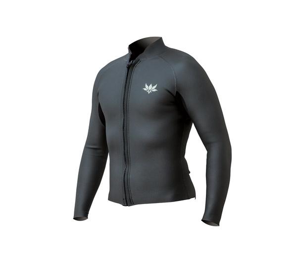 Classic Long Sleeve Jacket - Vertical Front Zip
