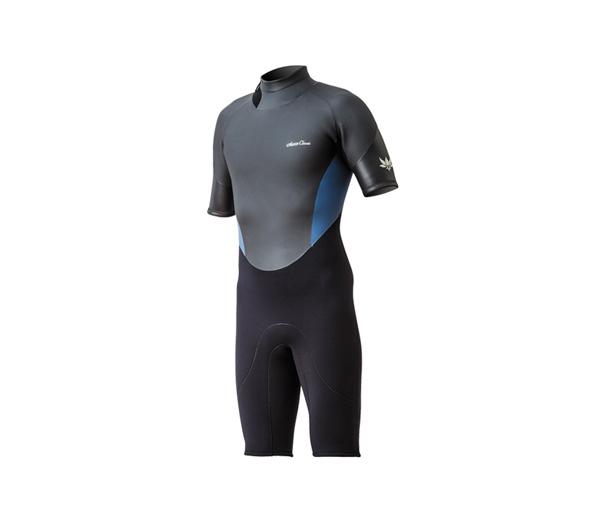 Classic Back Zip Short Sleeve Spring Suit