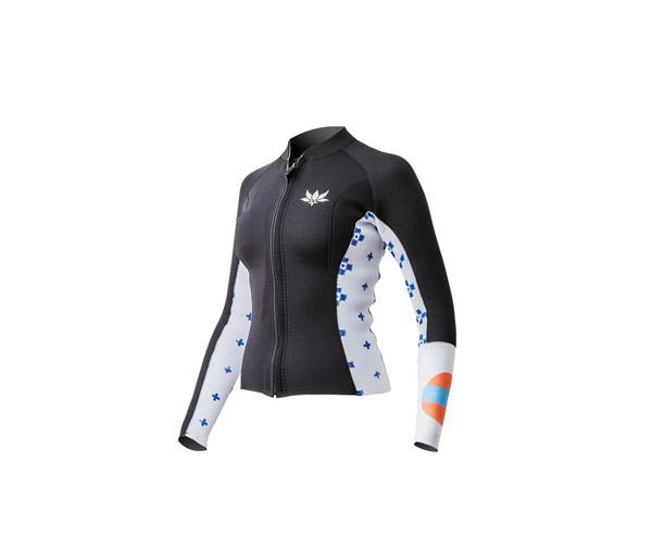 Women's Type J LS Front Zip Jacket